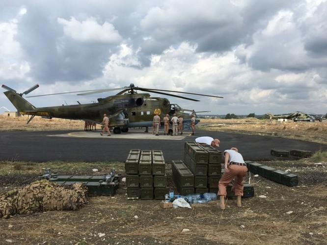 Trực thăng tấn công Mi-24 của Nga tác chiến tại Syria