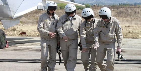 Các phi công Nga tham chiến tại Syria trao đổi kinh nghiệm