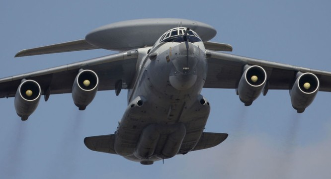 Máy bay trinh sát-cảnh báo sớm của Nga hoạt động tại Syria