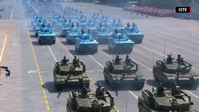 Trung Quốc khoe dàn vũ khí trong lễ duyệt binh năm 2015