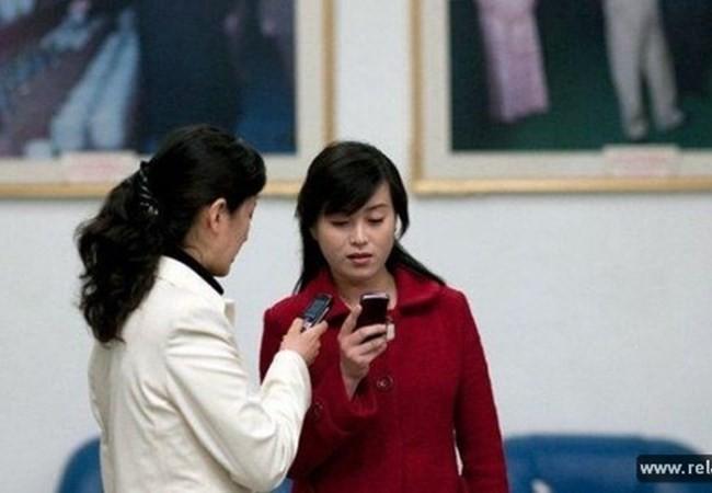 Rất nhiều người dân Triều Tiên đã sử dụng điện thoại di động