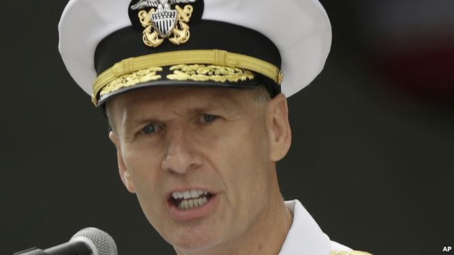 Phó đô đốc Aucoin đòi Trung Quốc phải minh bạch hóa các ý đồ ở Biển Đông