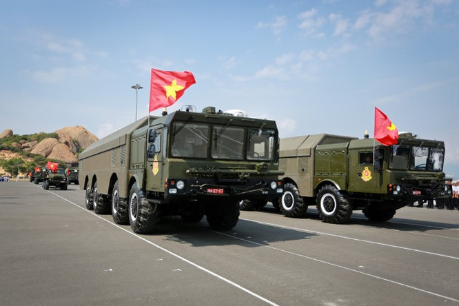 Hệ thống tên lửa phòng thủ bờ biển Bastion-P của Việt Nam