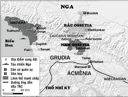 Cuộc chiến Nga-Grudia và những điều chưa biết ảnh 2