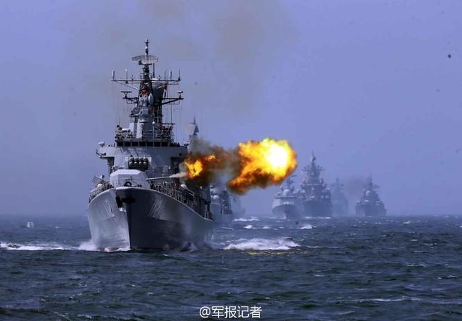 Hải quân Nga và Trung Quốc tập trận chung