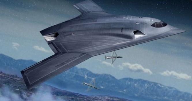 Mô hình máy bay ném bom chiến lược mới B-21 của Mỹ