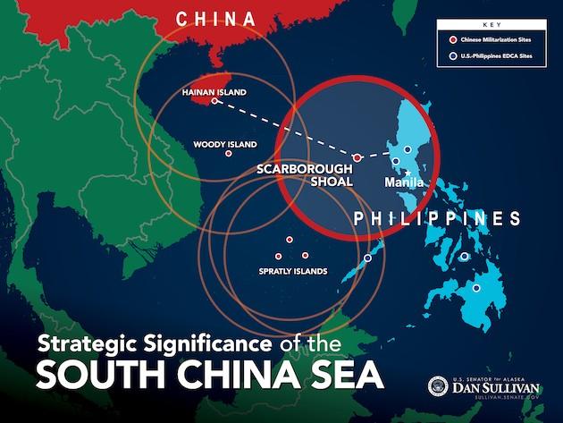 Trung Quốc đang xây dựng một hệ thống các căn cứ quân sự hòng khống chế và