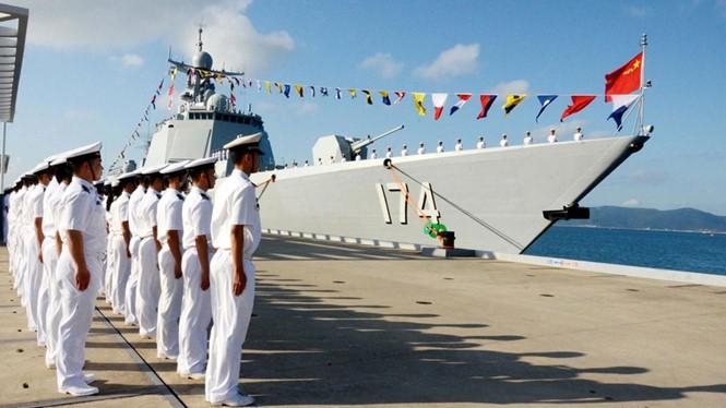 Trung Quốc vừa điều khu trục hạm Hợp Phì tập trận khiêu khích ở Biển Đông
