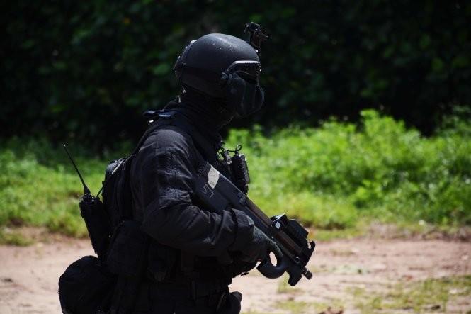 Hải quân, đặc công Việt Nam hoàn thành xuất sắc diễn tập chống khủng bố ảnh 8
