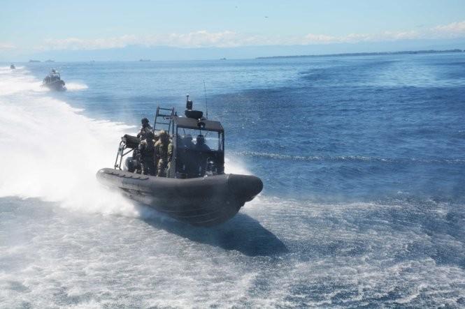 Hải quân, đặc công Việt Nam hoàn thành xuất sắc diễn tập chống khủng bố ảnh 3