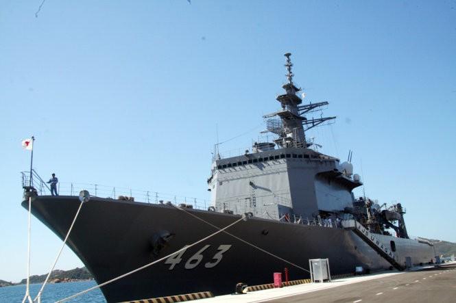 Chiến hạm Ấn Độ lần đầu vào vịnh Cam Ranh ảnh 3