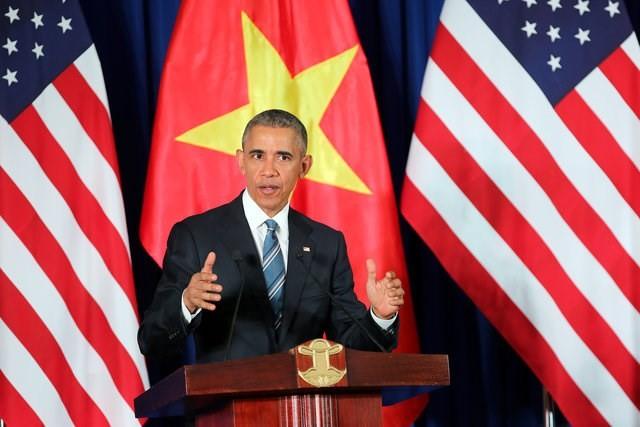 Ông Obama đã có chuyến thăm lịch sử tới Việt Nam