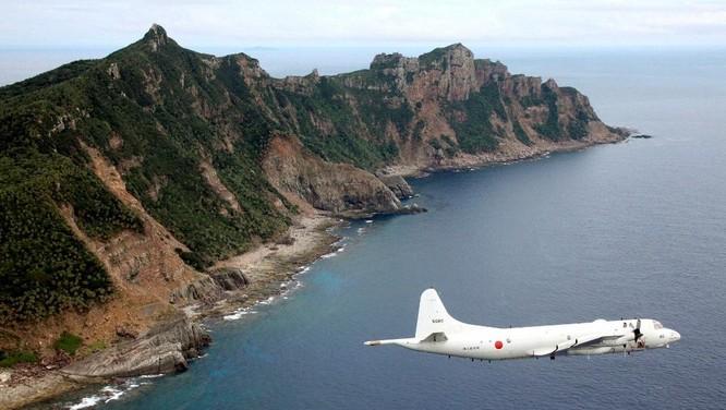 Máy bay Nhật tuần tra ỏ quần đảo Senkaku/Điếu Ngư