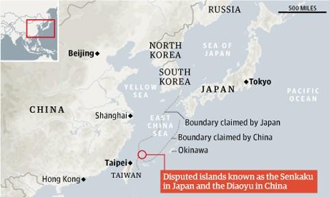 Đại sứ Trung Quốc tại Nhật Bản bị triệu tập lúc hai giờ sáng ảnh 1