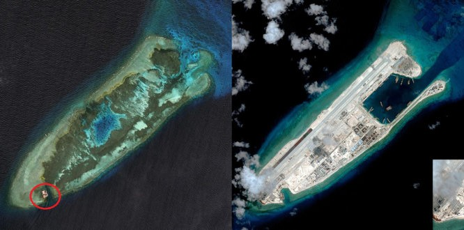 Trung Quốc không thể bào chữa cho việc tàn phá môi trường để xây đảo nhân tạo phi pháp ở Biển Đông
