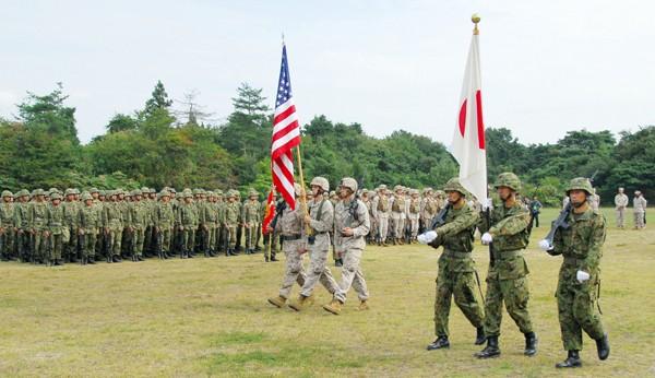 Quân đội Mỹ và Nhật Bản tập trận chung