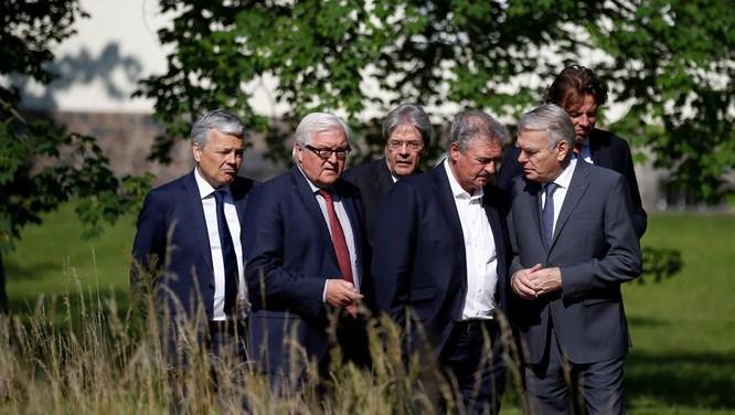 Ngoại trưởng 6 nước sáng lập EU phải tổ chức cuộc họp bất thường tại Đức