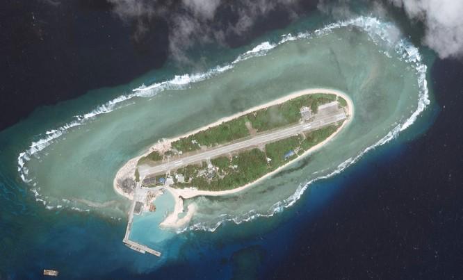 Đảo Ba Bình do Đài Loan chiếm đóng trái phép