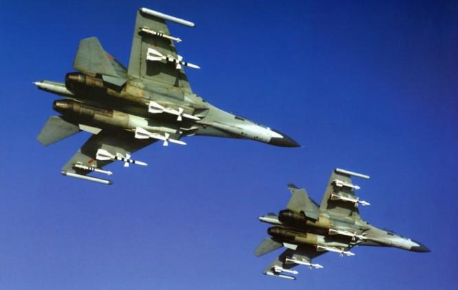 Chiến đấu cơ Su-27 của không quân Trung Quốc