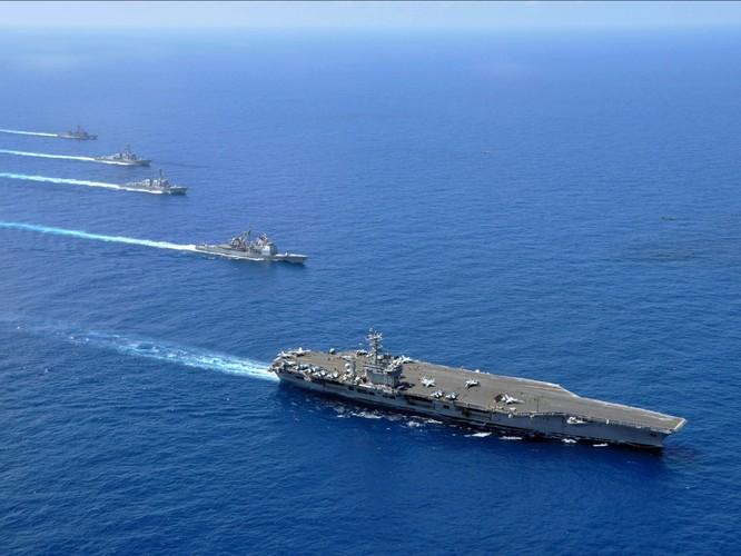 Cụm tác chiến tàu sân bay Mỹ thường trực tại Biển Đông, gửi thông điệp không thể nhầm lẫn tới Trung Quốc