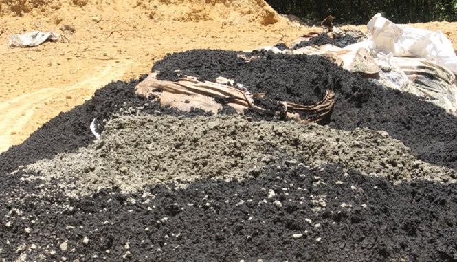 Formosa chôn 100 tấn chất thải ở trang trại sếp công ty môi trường ảnh 1