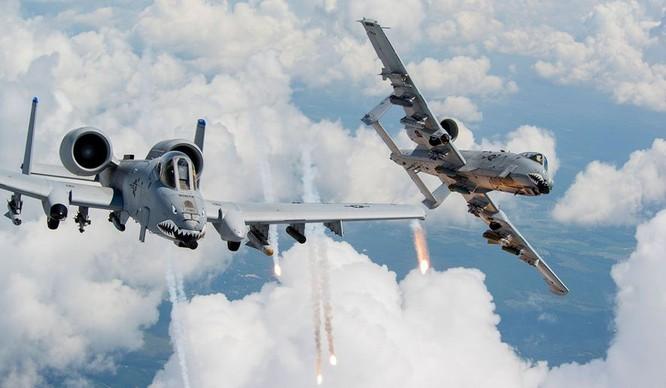 Mỹ đã điều chiến đấu cơ tấn công cự ly gần A-10 tới đồn trú tại Philippines