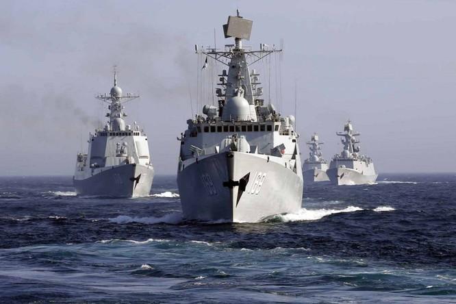Hải quân Trung Quốc gần đây liên tục tập trân trên biển gây căng thẳng khu vực