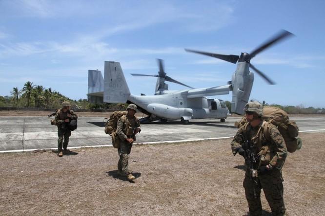 Quân đội Mỹ và Philippines tăng cường thao diễn chung thời gian gần đây