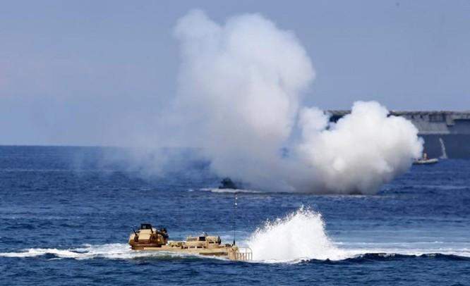 Hải quân Nhật Bản diễn tập đổ bộ