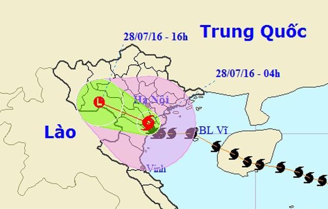 Hà Nội: Nhiều tuyến phố ngập nặng và mất điện vì mưa to, gió giật mạnh ảnh 46