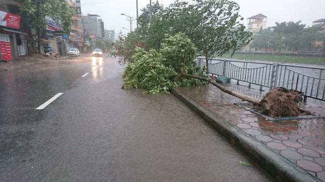 Hà Nội: Nhiều tuyến phố ngập nặng và mất điện vì mưa to, gió giật mạnh ảnh 43