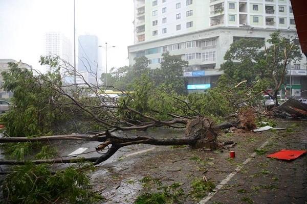 Hà Nội: Nhiều tuyến phố ngập nặng và mất điện vì mưa to, gió giật mạnh ảnh 1