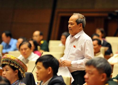 Đại biểu Ngô Văn Minh không đồng tình khi Chính phủ liên tục đặt Quốc hội vào thế