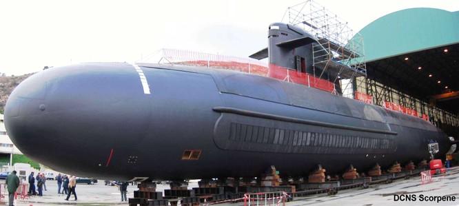 Tàu ngầm Scorpene của Pháp được nhiều quốc gia ưa chuộng