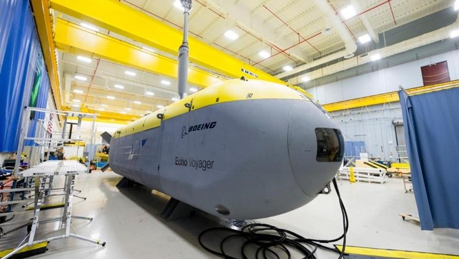 Tàu ngầm không người lái Voyager sẽ đem lại phương thức tác chiến mới cho Mỹ
