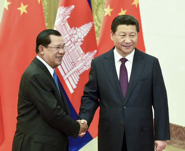Quan hệ Campuchia-Trung Quốc ngày càng nồng ấm