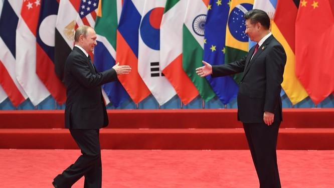 Tổng thống Putin và ông Tập Cận Bình tại hội nghị G-20 ở Hàng Châu