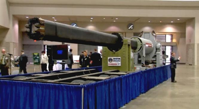 Mỹ đang xây dựng chiến lược quân sự mới dựa trên đột phá công nghệ lần thứ ba với các loại vũ khí siêu hiện đại như vũ khí laser, vũ khí siêu vượt âm và pháo điện từ (ảnh)