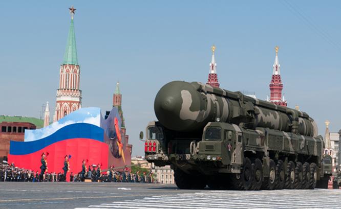Tên lửa hạt nhân liên lục địa Topol-M của Nga