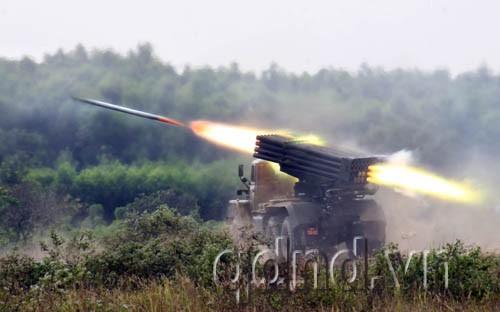 Đây là một trong những vũ khí có uy lực mạnh của pháo binh