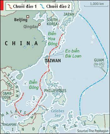 Trung Quốc âm mưu lập 'chuỗi phòng thủ bán nguyệt' trên Thái Bình Dương ảnh 2