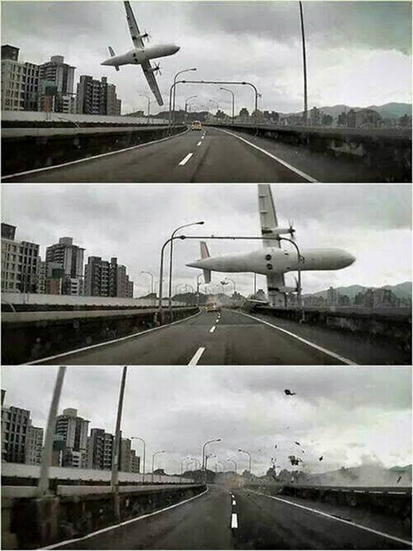 Máy bay chở khách Đài Loan lao xuống sông, ít nhất 31 người chết ảnh 5
