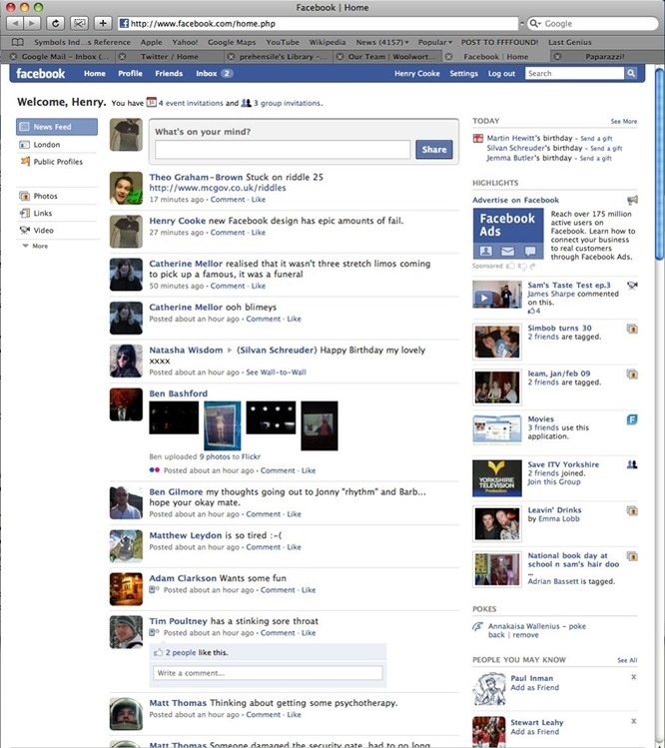 Facebook đã thay đổi như thế nào trong 11 năm qua ảnh 7