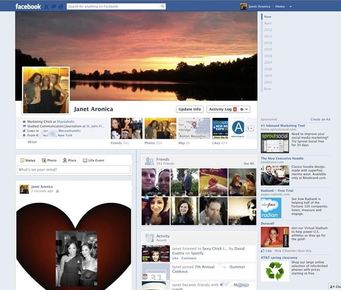 Facebook đã thay đổi như thế nào trong 11 năm qua ảnh 11