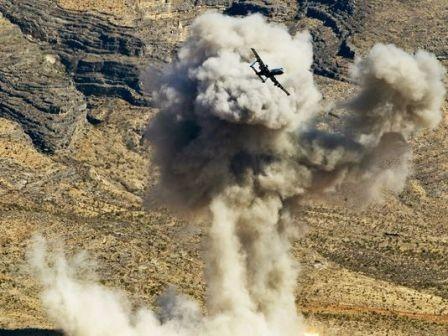 A-10 Warthog trong một đợt tấn công IS.