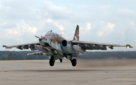 Su-25 Frogfoot.