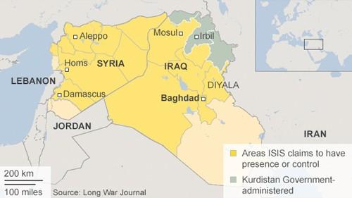 IS rút khỏi đông bắc thành phố lớn nhất Syria ảnh 1