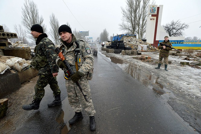 Lực lượng Ukraine rút lui - báo cáo của OBSE ảnh 2