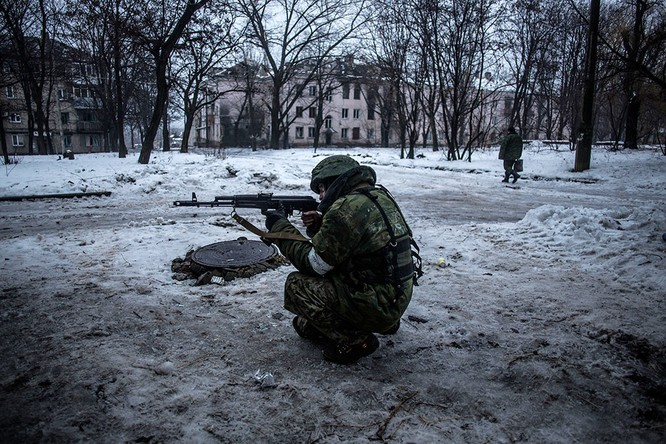 Lực lượng Ukraine rút lui - báo cáo của OBSE ảnh 5