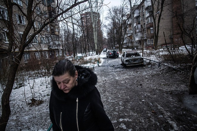 Lực lượng Ukraine rút lui - báo cáo của OBSE ảnh 6